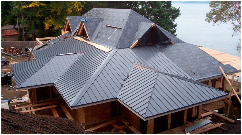Image Result For How To Install A Tin Roof